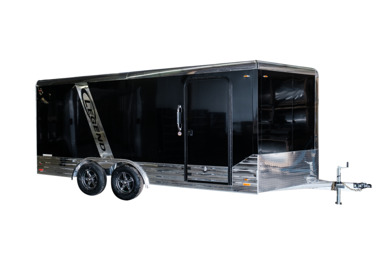 Legend Deluxe V-Nose 8' Wide Aluminum Cargo Trailer