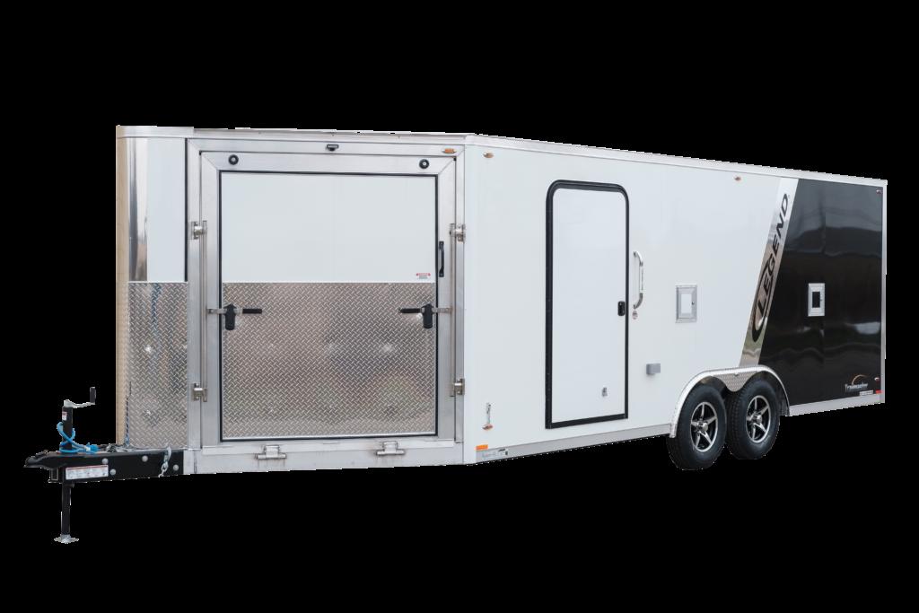 Trailmaster V-Nose 8.5 Foot Wide Snowmobile ATV Aluminum Trailer
