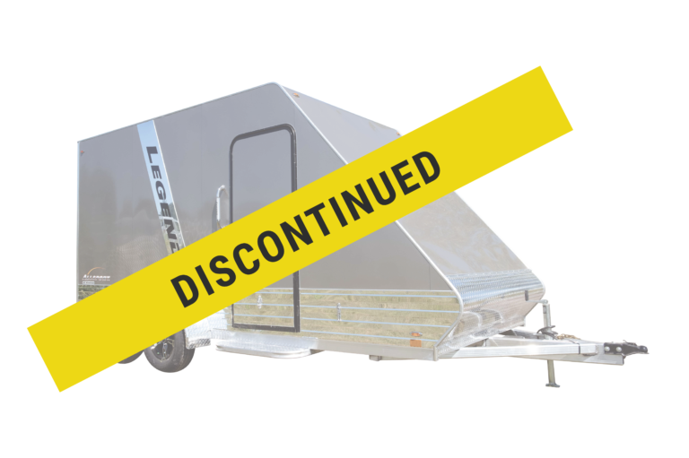 Legend has discontinued the All Sport Deluxe aluminum enclosed hybrid sport trailer