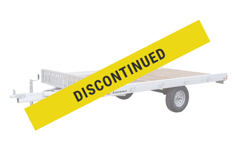 Legend has discontinued production of the all aluminum ATV Master utility trailer