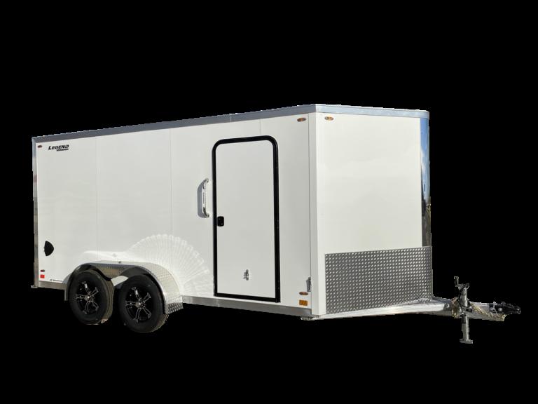 Flat Top V Nose Tandem Axle Aluminum V Nose Cargo Trailer