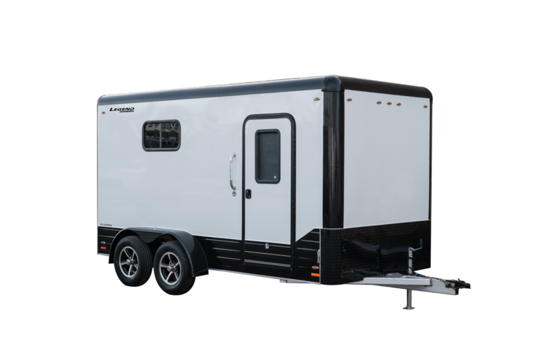 Legend Deluxe Tandem Axle Aluminum Cargo Trailer with Blackout Package