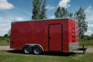 Steel V-Nose 8.5' Wide Cargo Trailer