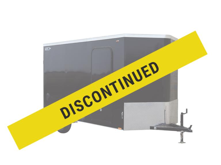 Legend has discontinued its Steel V Nose enclosed steel trailer