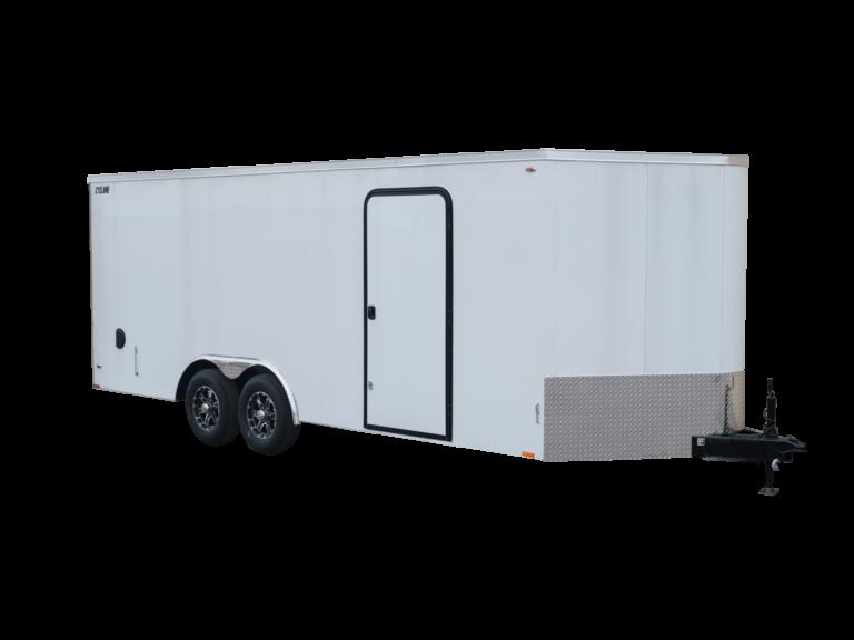 Steel V-Nose 8.5 Enclosed Cargo Trailer Tandem Axle