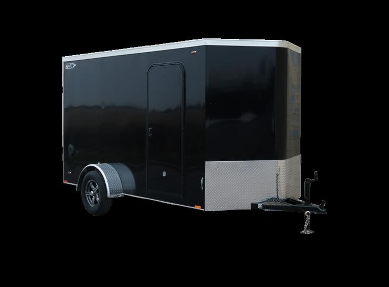 Steel V-Nose Single Axle Enclosed Trailer Cyclone