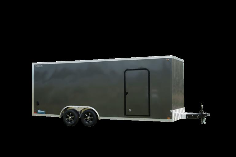 Thunder V-Nose 8.5' Wide Tandem Axle Aluminum Cargo Trailer