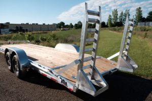 Ramp Detail on Legend's HEQ and MEQ trailers