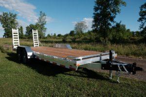 Legend's Aluminum Open heavy duty equipment Hauler Trailer