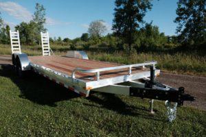 Aluminum Open heavy duty equipment Hauler Trailer