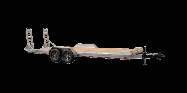 Heavy Duty Equipment Hauler Tandem Axle Aluminum Utility Trailer