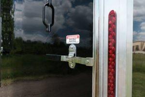Rear Stainless Steel Ramp Door Hardware