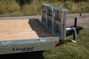 Front Gate and Ramps view on Legend Open Car Hauler