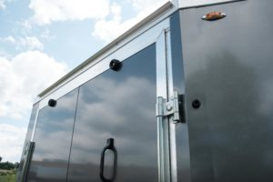 Front Ramp Door Detail on Thunder Snow ATV Trailer