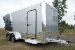 Legend Deluxe Tandem Axle Aluminum Enclosed Cargo Trailer