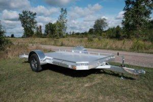 Tilt Utility Aluminum Trailer