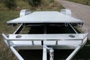 Tilt View on Legend's Aluminum Tilt Car Hauler