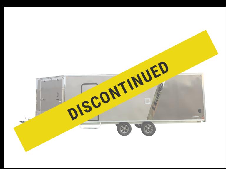 Legend has discontinued the Explorer Deck Over enclosed aluminum sport trailer