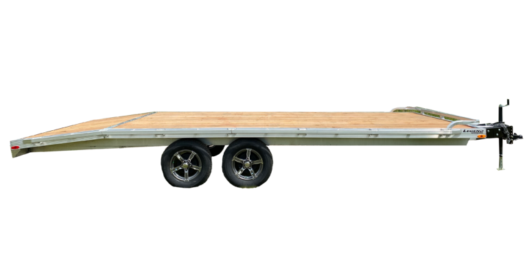 Medium Duty Aluminum Open Deck Over Trailer