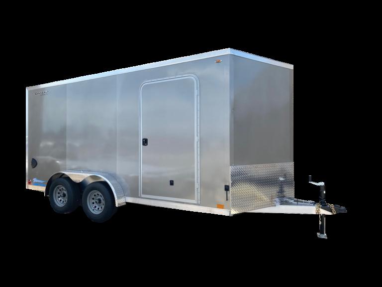 Thunder V Nose 7.5' Wide Tandem Axle Aluminum Cargo Trailer