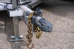 """2 5/16"""" Straight Bulldog Coupler for enclosed trailers custom coupler and jack options"""