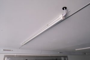 4' Interior Slim Light LED Strip custom light and electrical options for cargo trailers