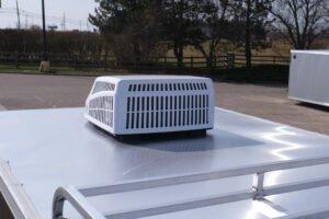 13,500 BTU air conditioning for enclosed cargo trailers