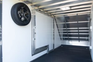 Aluminum Spare Tire Wall Mount