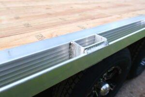 Aluminum Stake Pocket
