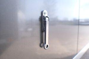 Aluminum Door Holdback (detail 1)