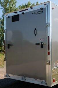 Black Ramp Door Handle (position 2)