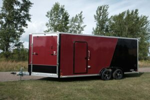 exterior blackout trim options for cargo trailers
