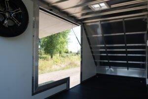 Gull Wing Door (open int. view)