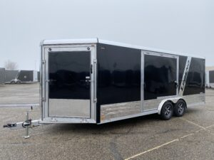 Legend Aluminum Enclosed Snowmobile Trailer Deluxe Snow 8' Wide