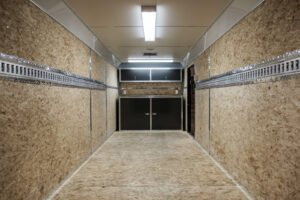 Cargo Solutions for Enclosed Cargo Trailers Recessed Aluminum E-Track (wall)