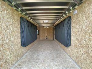 Mattresses stored for Legend's relax camper package