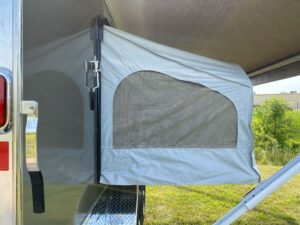 Mattress option for enclosed cargo trailer