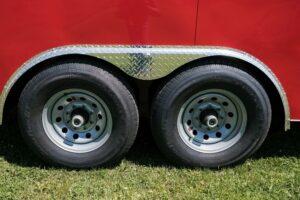 Photo of steel silver mod 8 hole wheels