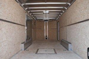 enclosed trailer wall and floor options engineered wood walls