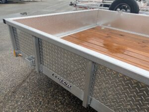 """14"""" ATP Skirting/Stone Guard on Legend Open Utility Trailers"""