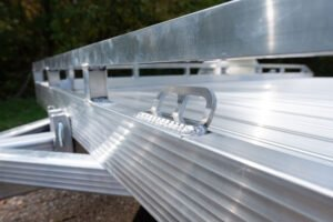 Aluminum 2-Hole Tie Down