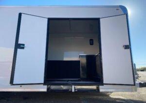 "Curbside 60"" x 74"" Double Doors Custom Cargo Trailer Options Legend"