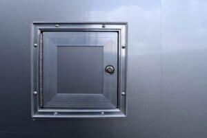 Legend Cargo Access Door Exterior Detail View