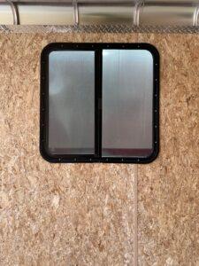 "30""x30"" horizontal full slide window"