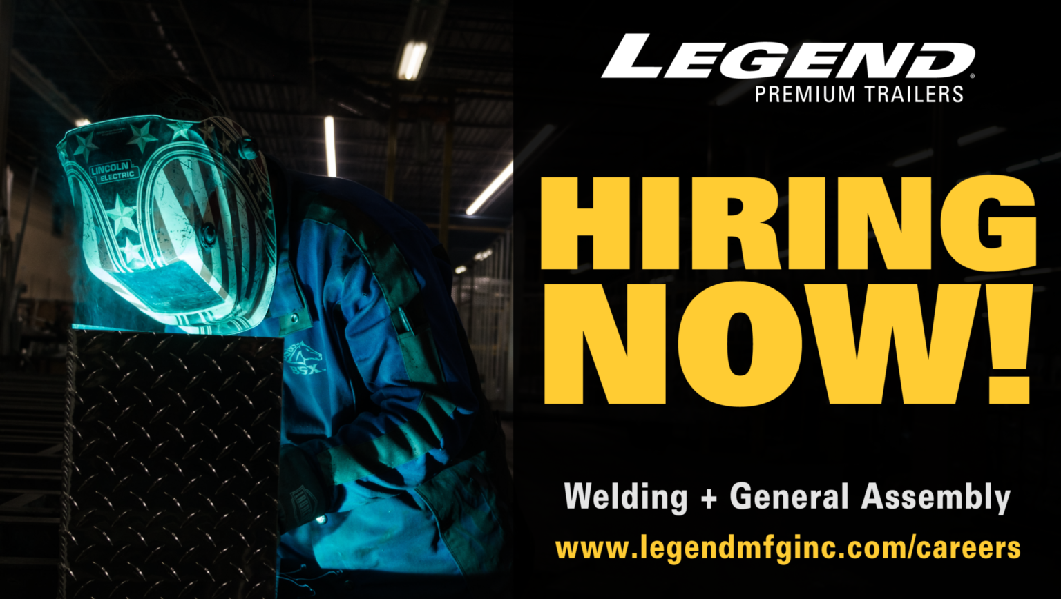 Apply for a job at Legend Manufacturing